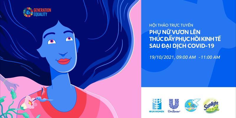 Hội thảo trực tuyến về Phụ nữ do Unilever Việt Nam tổ chức