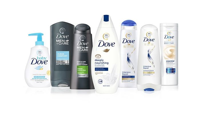 Dove moves to 100% recycled plastic bottles