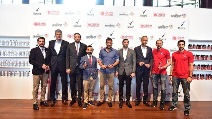 A Milli Erkek Basketbol Takımı ana sponsoru Rexona