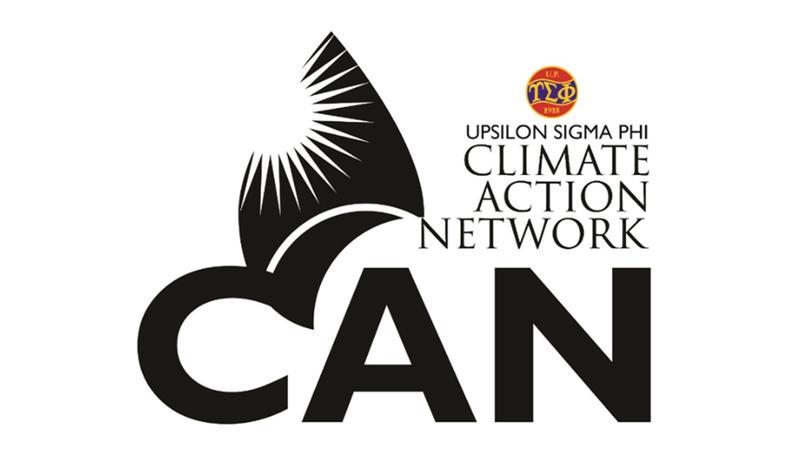Upsilon Sigma Phi Climate Action Network logo