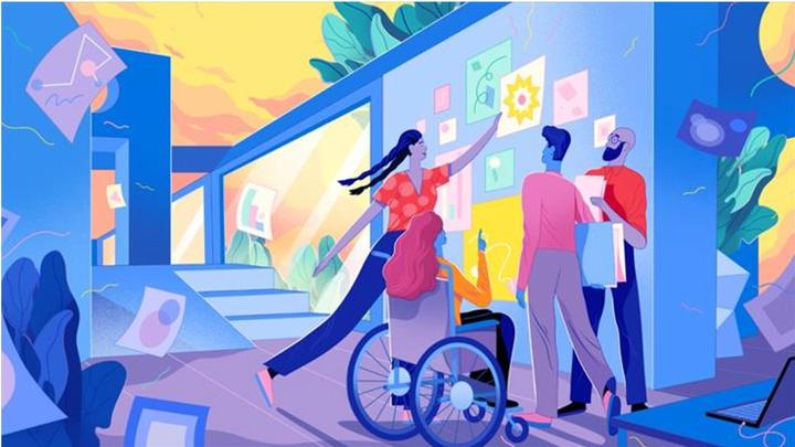 An image linking to Unilever page dedicated to disability