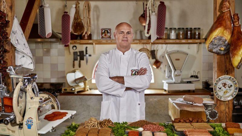 Jaap Korteweg, le fondateur de The Vegetarian Butcher, un ancien agriculteur reconverti dans la viande sans viande
