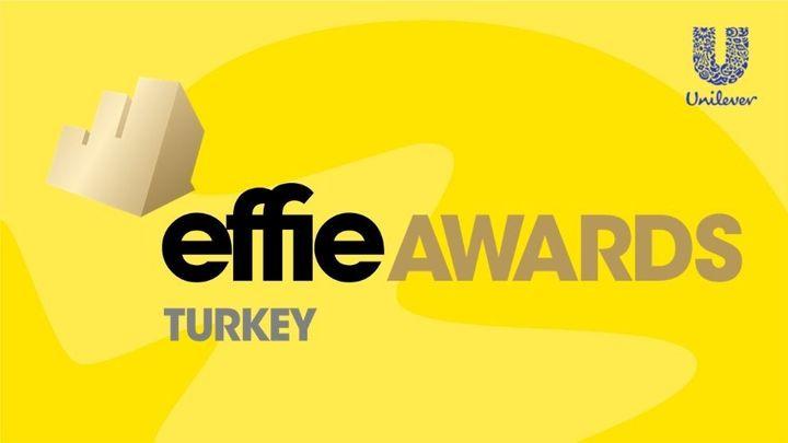 Effie Ödülleri logosu ve Unilever logosu görseli