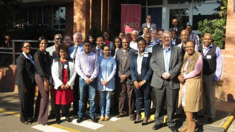 Local government and members of the Pietermaritzburg Business Chamber visit the Unilever Pietermaritzburg Factory