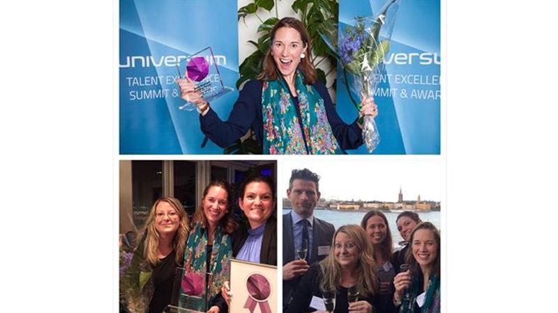 Sweden Universum talent award