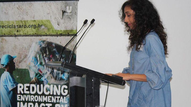 Australia USLP Lead for Trust external event Afra presenting