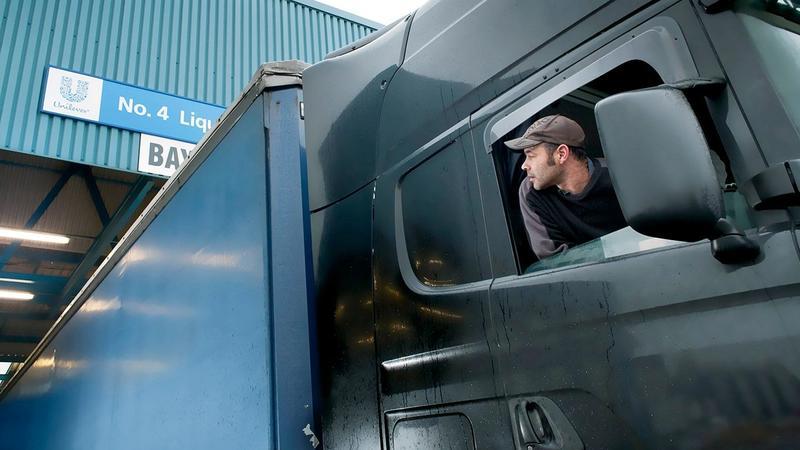 A Unilever supply truck