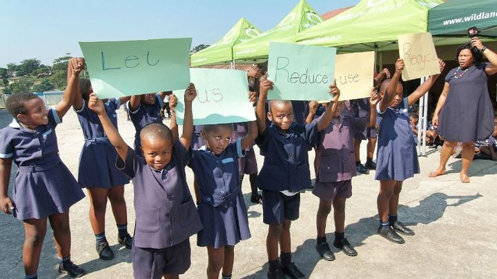 Students share a strong message on recylcing