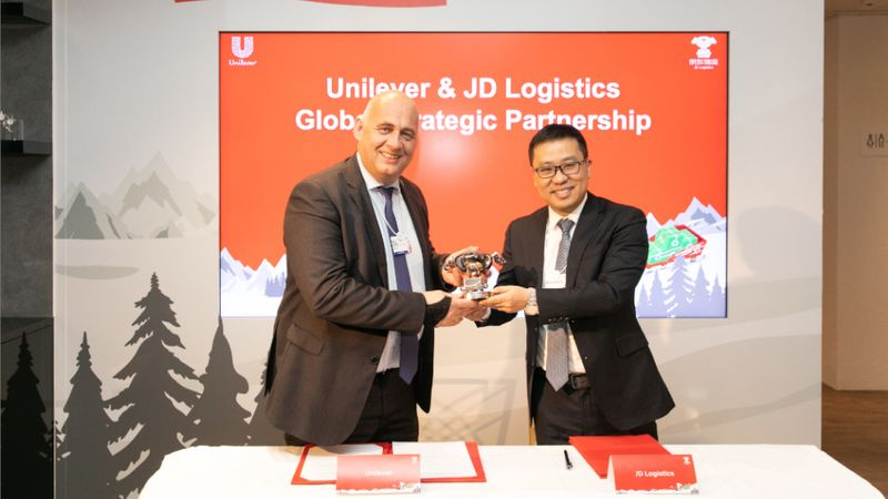 Unilever and JD Logistics