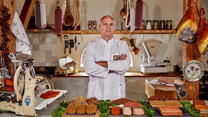 Vegetarian butcher Jaap Korteweg