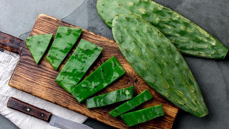 Cactus chopped