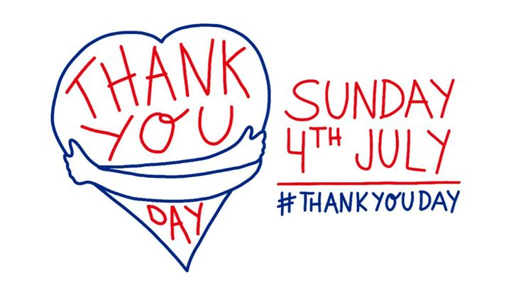 On Sunday 4 July 2021 come together to celebrate and say thank you to those that have supported you through the last year.