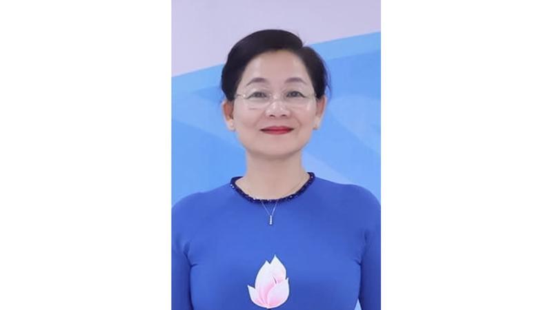Bà Trần Hương – Hội liên hiệp Phụ nữ Việt Nam