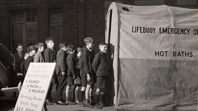 Unilever brand Lifebuoy come to the public's aid during the Blitz in World War II.