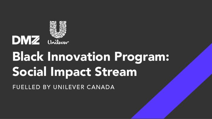 Image of DMZ and Unilever logos with title of program