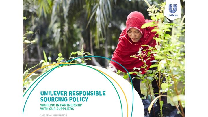 Unilever Responsible Sourcing Policy