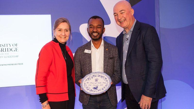 Emmanuel Emodek award winner