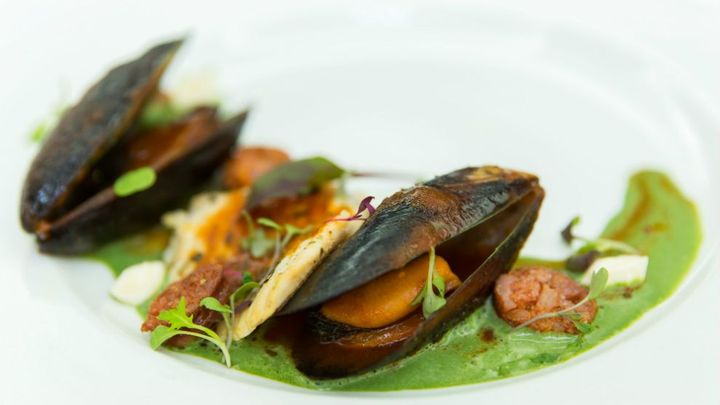 SA picture of a mussel