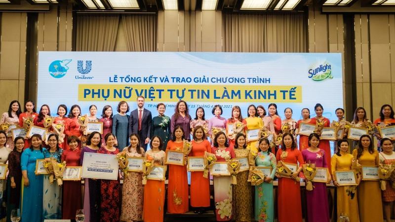 Unilever giúp thúc đẩy bình đẳng giới thông qua trao quyền cho phụ nữ