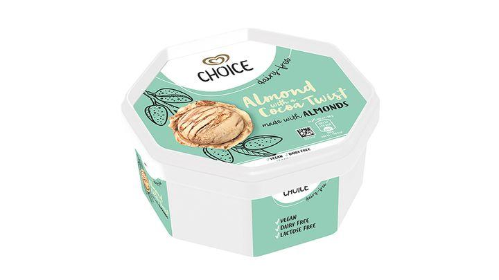 Finland choice ice cream product
