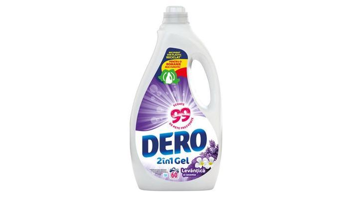 Noul detergent Dero lichid eco-friendly.