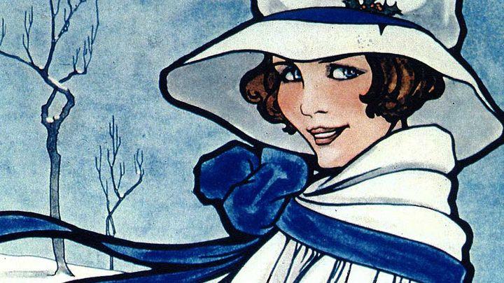 Immagine tratta da una pubblicità della Blue Band olandese del 1910 circa