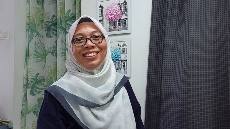 A photo of Intan Shuhada Md Yunus, a woman working in science at Unilever