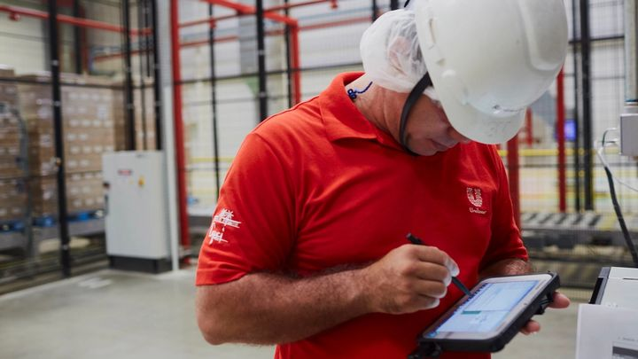 Employee in Brazil factory
