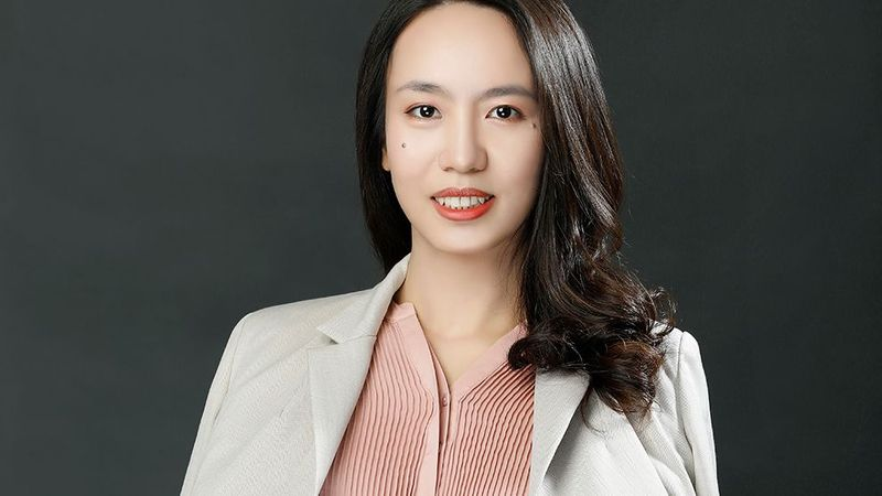 A photo of Erica Liang, a woman working in science at Unilever
