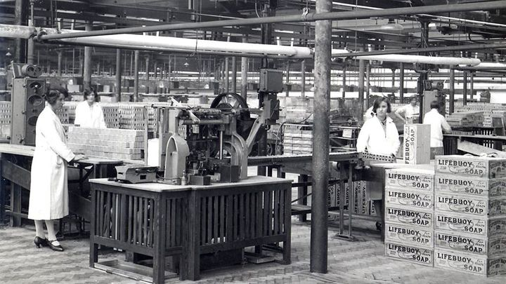 Lifebuoy packaging factory