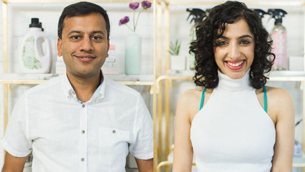 Piyush Jain and Sonika Malhotra