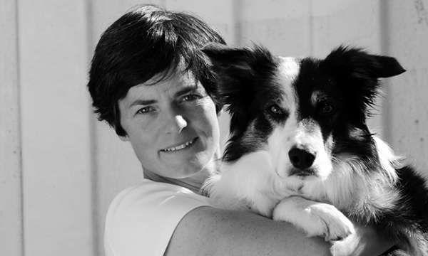 Ellen MacArthur and her dog Norman