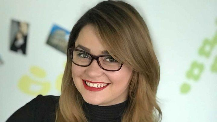 Profile shot of Unilever hero Viktoria Voznyuk smiling
