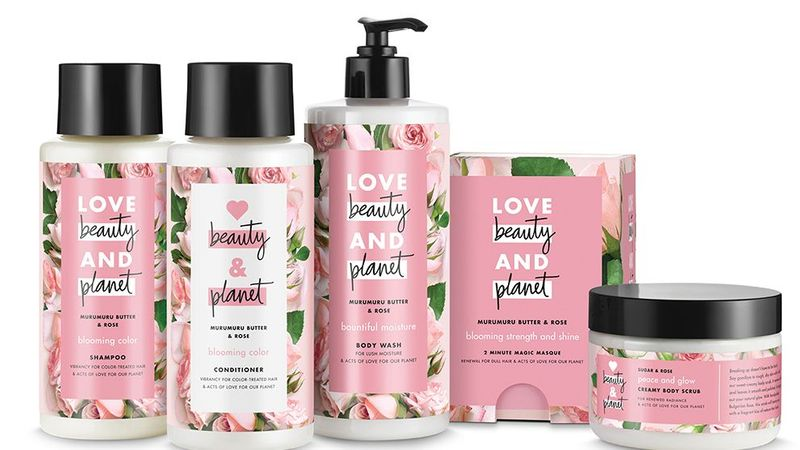 Love beauty and Planet products