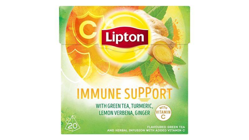 Lipton leaf tea immune support with Vitamin C