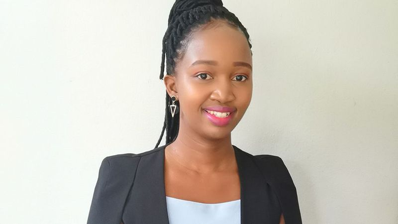 A photo of Vezekile Dladla, a woman working in science at Unilever