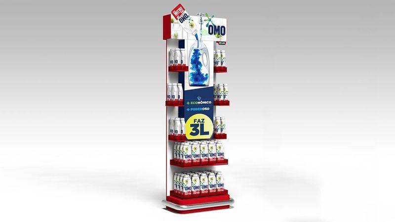 3L omo bottles stand