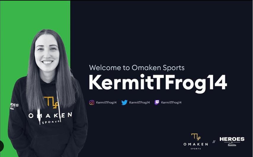 Kermittfrog joins Omaken Sports!