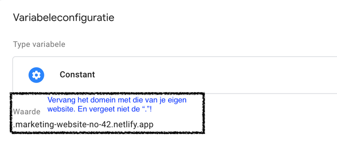 Google Tag Manager GTM cookie consent toestemming variabele variable