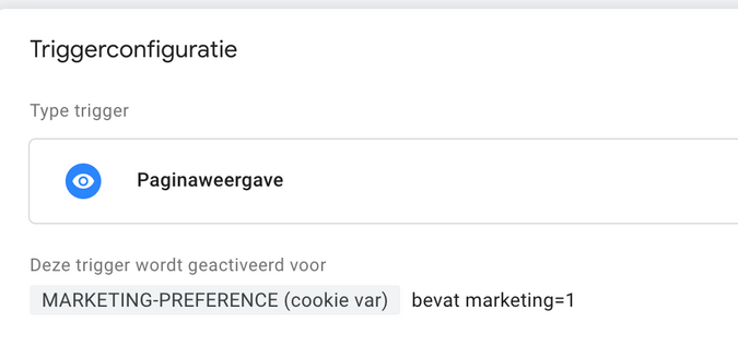 Cookie consent practical GTM praktisch toestemming Google Tag Manager