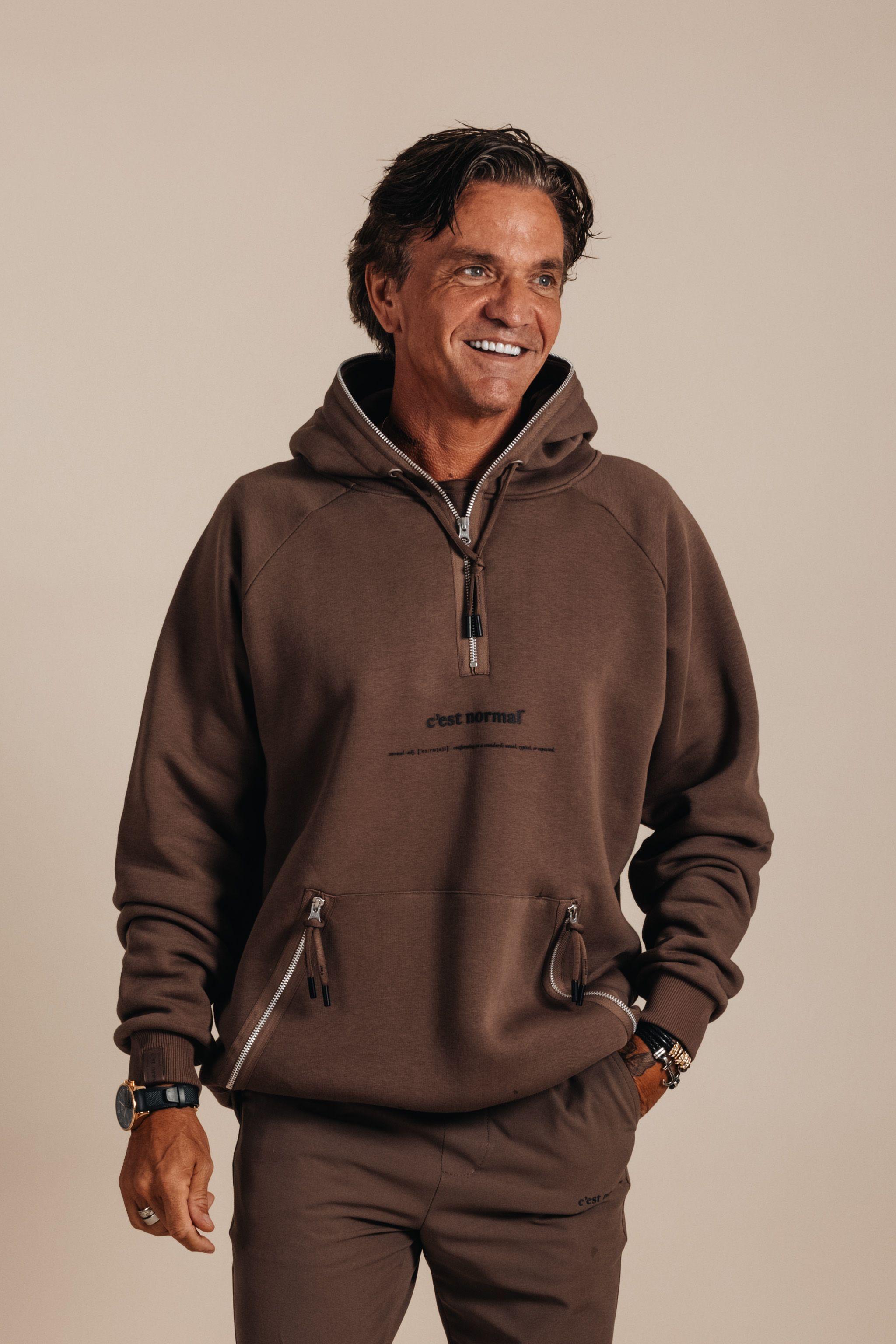 Kangaroo halfzip hoodie