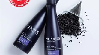 nexxus keraphix shampoo and conditioner and allure best beauty 2020 logo