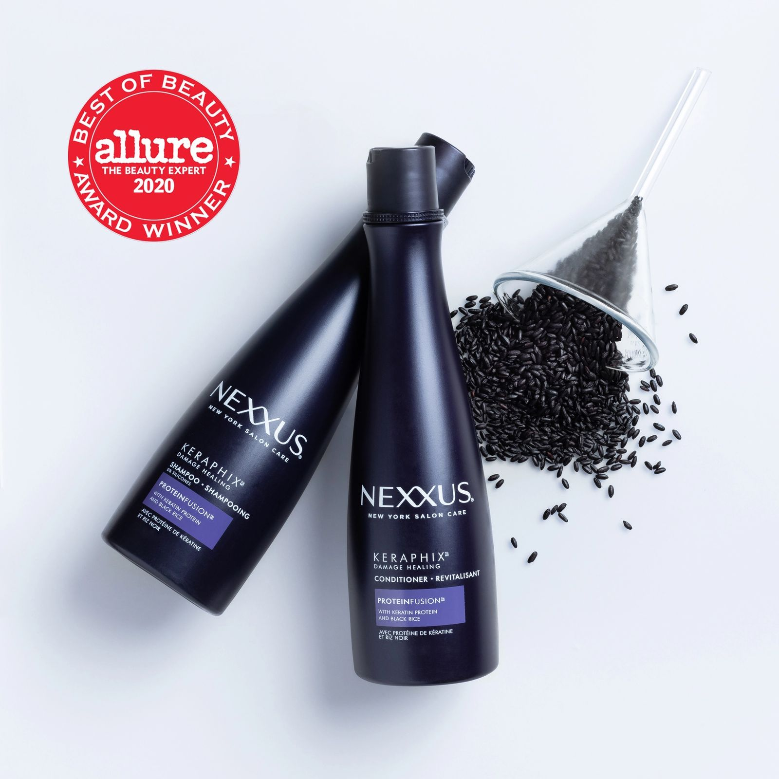 2020 Best Hair Care Products For Damaged Hair Repair Nexxus Keraphix Shampoo Conditioner Nexxus Us