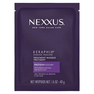 Front of Pack Nexxus Skin Care Keraphix Mask 1.5 OZ, nexxus keraphix mask for damaged hair, nexxus keraphix mask