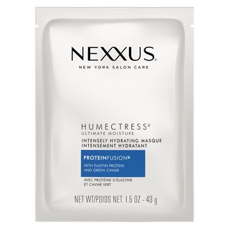 Front of Pack Nexxus Humectress Moisture Masque for Dry Hair 1.5 oz