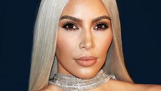 Portrait of Kim Kardashian