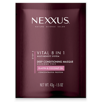 Front of Pack Nexxus  Vital 8-in-1 Hair Mask
