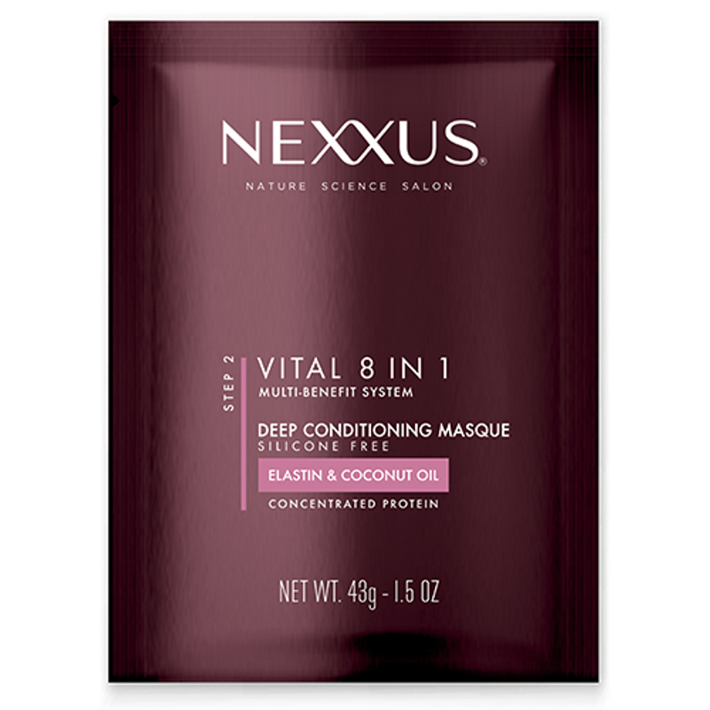 Nexxus Vital 8-in-1 Hair Mask For All Hair Types - Full-size image
