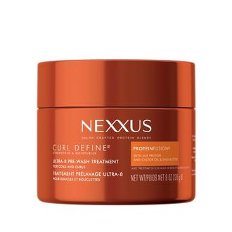 nexxus pre wash treatment, curly hair treatment, curl treatment