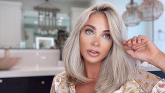Prevent & Repair Bleached Hair Damage Model Shot